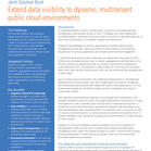 Cloud Visibility | Joint Solution Brief