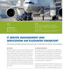 Fraport AG | Service Management & ServiceNow | Referenz
