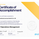 Micro Focus | Certification of Accomplishment