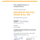 SAP Hosting Partner (Advanced)